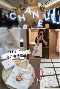 Chanel Ask for the moon tote bag 帆布袋